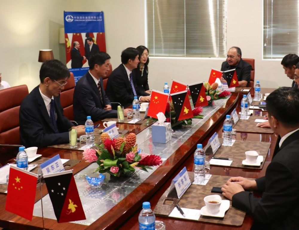 PNG, China in big infrastructure deal