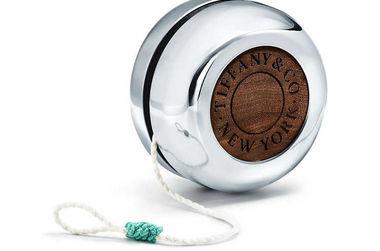 Silver yo-yo